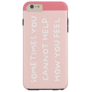 Life Quotes Tough iPhone 6 Plus Case