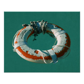 Life Ring Art Photograph Poster