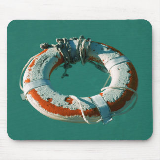 Life Ring Mouse Pad