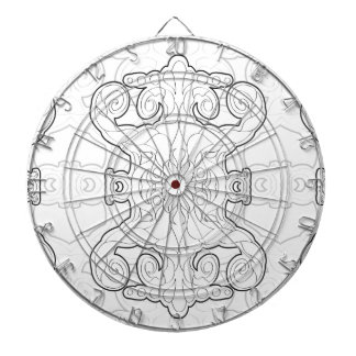 Life´s Pattern nr8 Dartboard With Darts