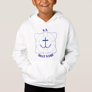 Life Saver/Anchor Boys Hoodie (Dark Print)