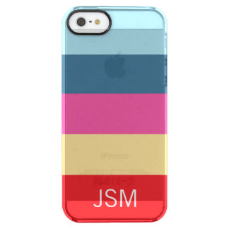 Life Saver Stripe Clear iPhone SE/5/5s Case