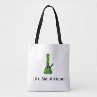 Life Simplicidad Cheeba Bong Tote Bag