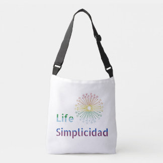 Life Simplicidad Rainbow Cartel Crossbody Bag