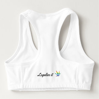 Life Simplicidad Rainbow Cartel Sports Bra