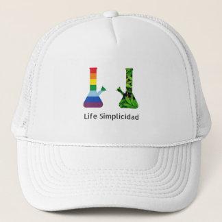 Life Simplicidad Rainbow Cheeba Bongs Trucker Hat