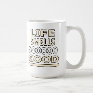 Life Smells So Good Coffee Mug