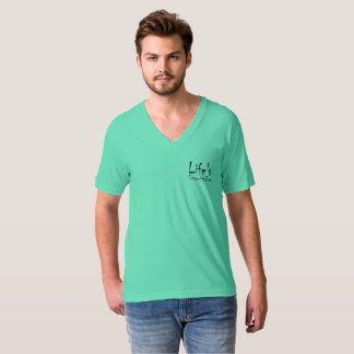Life Snooze Bar Men's V-Neck T-Shirt