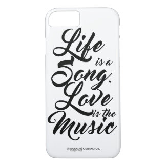 LIFE SONG LOVE MUSIC phone case