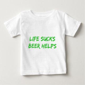 Life Sucks Beer Helps Baby T-Shirt