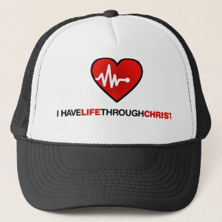Life trough Christ Trucker Hat