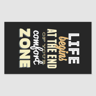 Life! Vintage Typography Inspirational Sticker