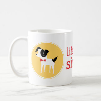 Life with Dogs, Simplified Coffee Mug