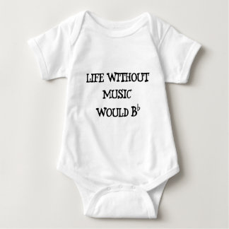 Life Without Music Baby Bodysuit