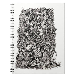 Life Without Skin by Brian Benson Notebook