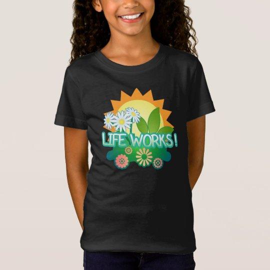 Life Works! Girls dark T-Shirt