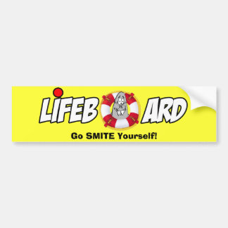 LIFEBOARD Bumper Sticker!! Bumper Sticker