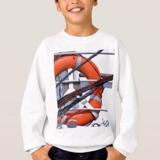 Lifebuoy digital painting transformation sweatshirt