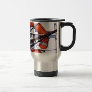 Lifebuoy digital painting transformation travel mug