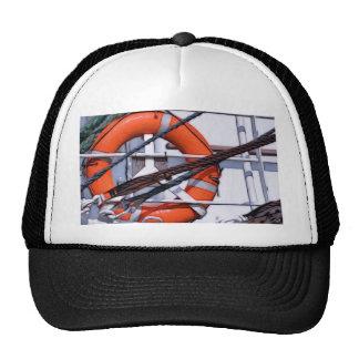 Lifebuoy digital painting transformation trucker hat