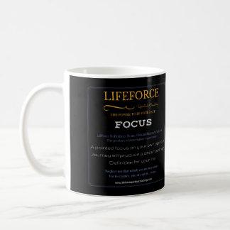 LifeForce Intention Mug: FOCUS Coffee Mug