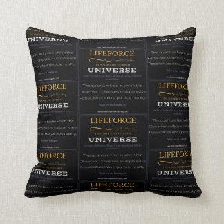 LifeForce Meditation Cushion: UNIVERSE Throw Pillow