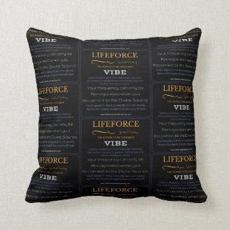 LifeForce Meditation Cushion: VIBE Throw Pillow