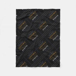 LifeForce Meditation Mat: STRIVE Fleece Blanket