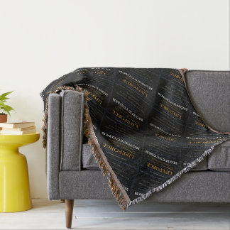 LifeForce Meditation Rug: HONEYCOMB Throw Blanket
