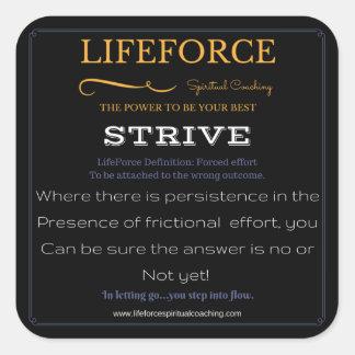 LifeForce Stickers 20PK: STRIVE