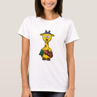 Lifeguard Giraffe Cartoon T-Shirt