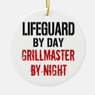 Lifeguard Grillmaster Ceramic Ornament