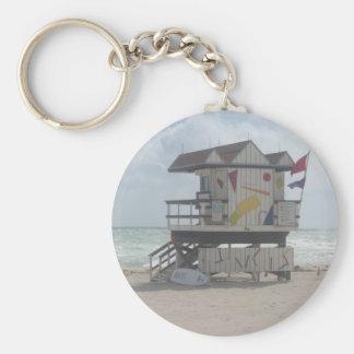 Lifeguard Shack Keychain