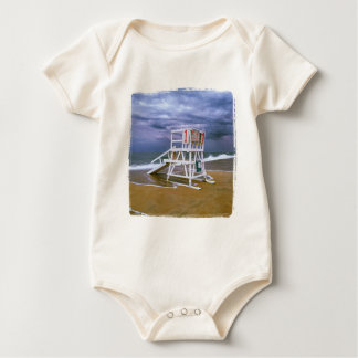Lifeguard Stand Baby Bodysuit