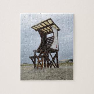 Lifeguard Stand Wrightsville Beach Jigsaw Puzzle