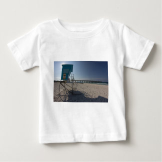 Lifeguard Tower at Panama City Beach Pier Baby T-Shirt