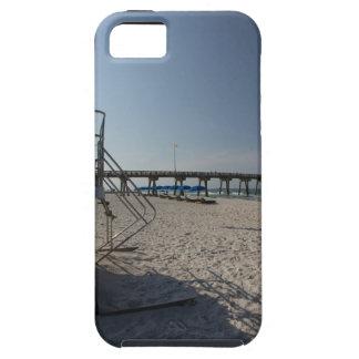 Lifeguard Tower at Panama City Beach Pier iPhone 5 Cover