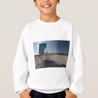 Lifeguard Tower at Panama City Beach Pier Sweatshirt