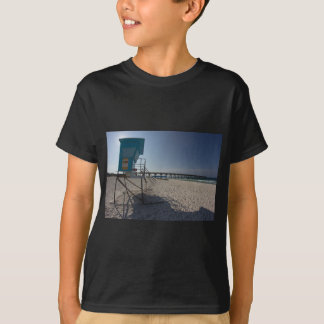 Lifeguard Tower at Panama City Beach Pier T-Shirt