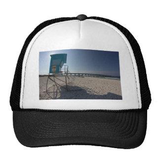 Lifeguard Tower at Panama City Beach Pier Trucker Hat
