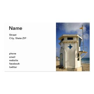 Lifeguard Tower Business Card Templates