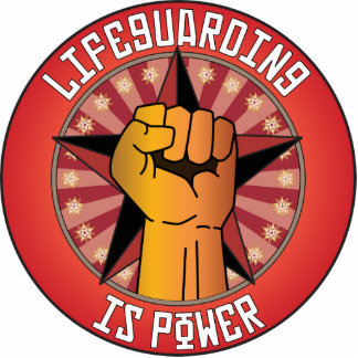 Lifeguarding Is Power Photo Cut Out