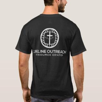 LifeLine Outreach Resource Center Black Shirt
