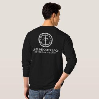 LifeLine Outreach Resource Center Black Shirt LS
