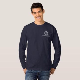 lifeLine Outreach Resource Center Blue Shirt LS