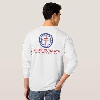 LifeLine Outreach Resource Center White Shirt LS