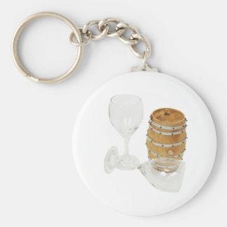 LifeOfWine1030609 copy Basic Round Button Keychain
