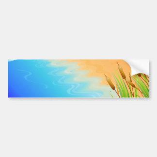 Lifes a Beach Bumper Sticker