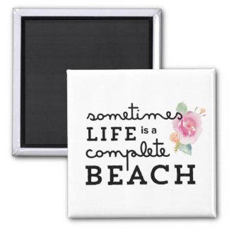 Life's a Beach Magnet