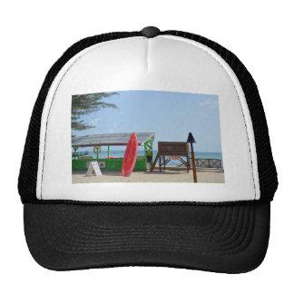 Life's a beach trucker hat